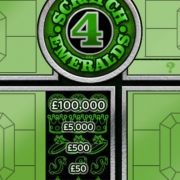 emerald scratch card