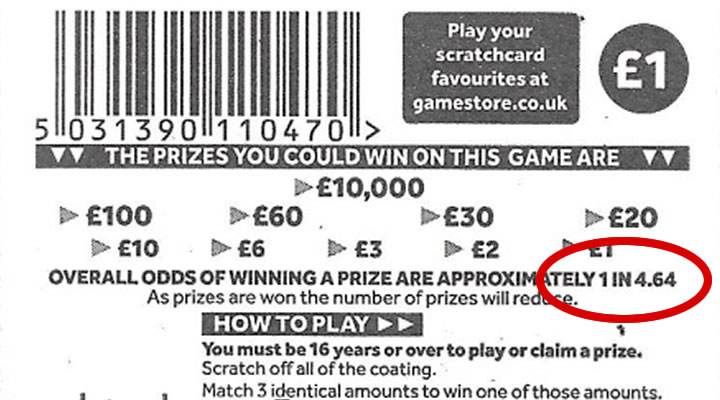 Which Scratch Cards Have The Best Chance Of Winning Scratch