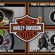Harley Davidson Scratch Card